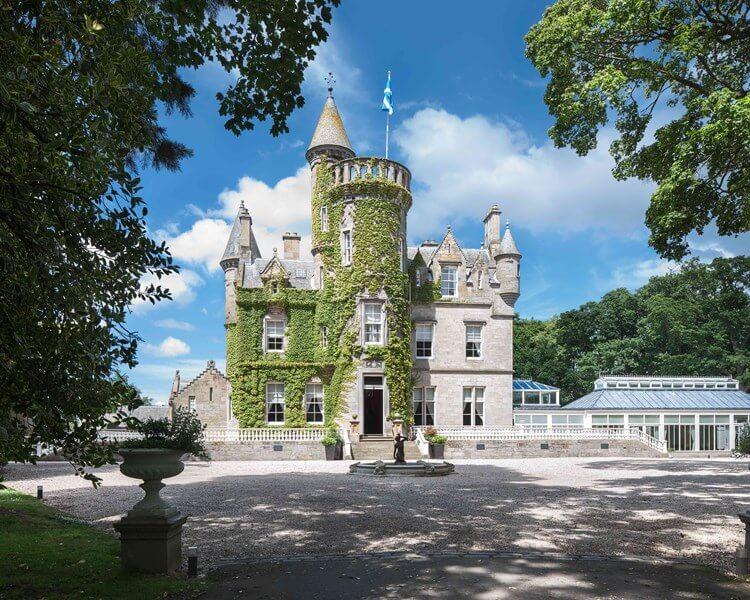 Carlowrie Castle, Edinburgh, Scotland