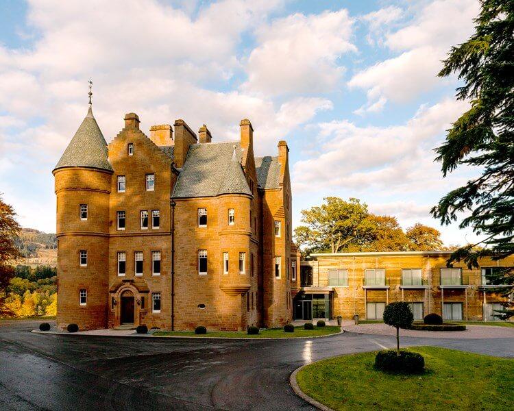 Fonab Castle, Pitlochry , Perthshire, Scotland