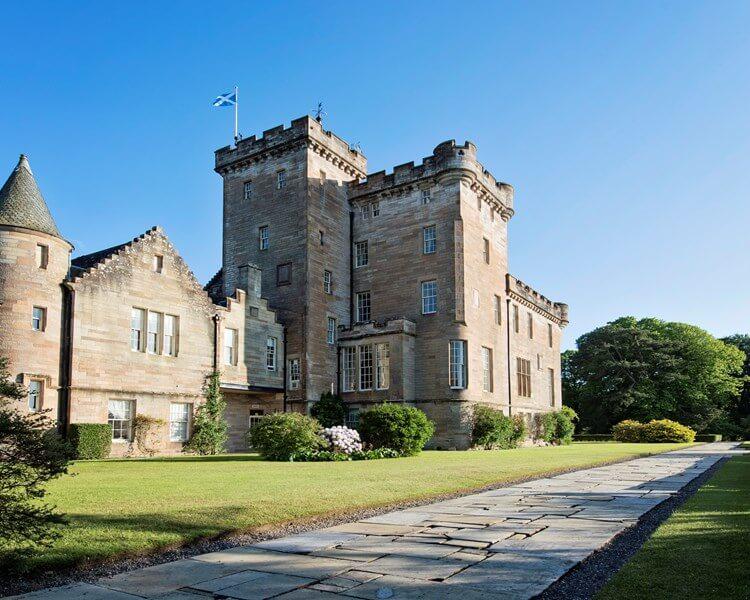 Glenapp Castle , Ballantrae , Ayrshire, Scotland