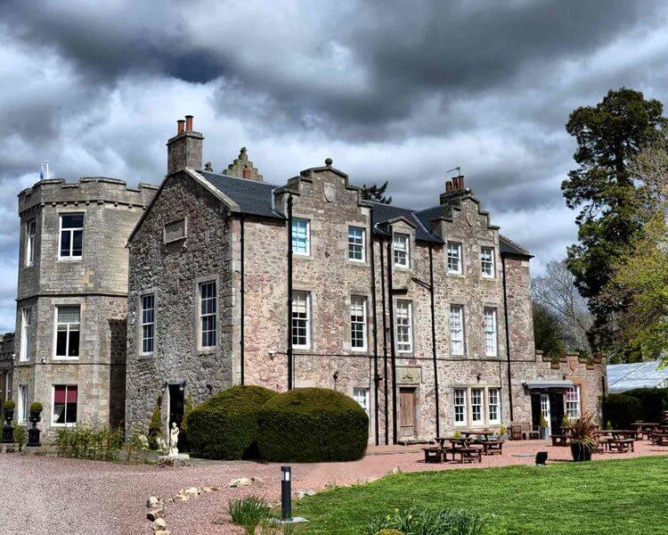 Shield hill Castle, Biggar Scotland