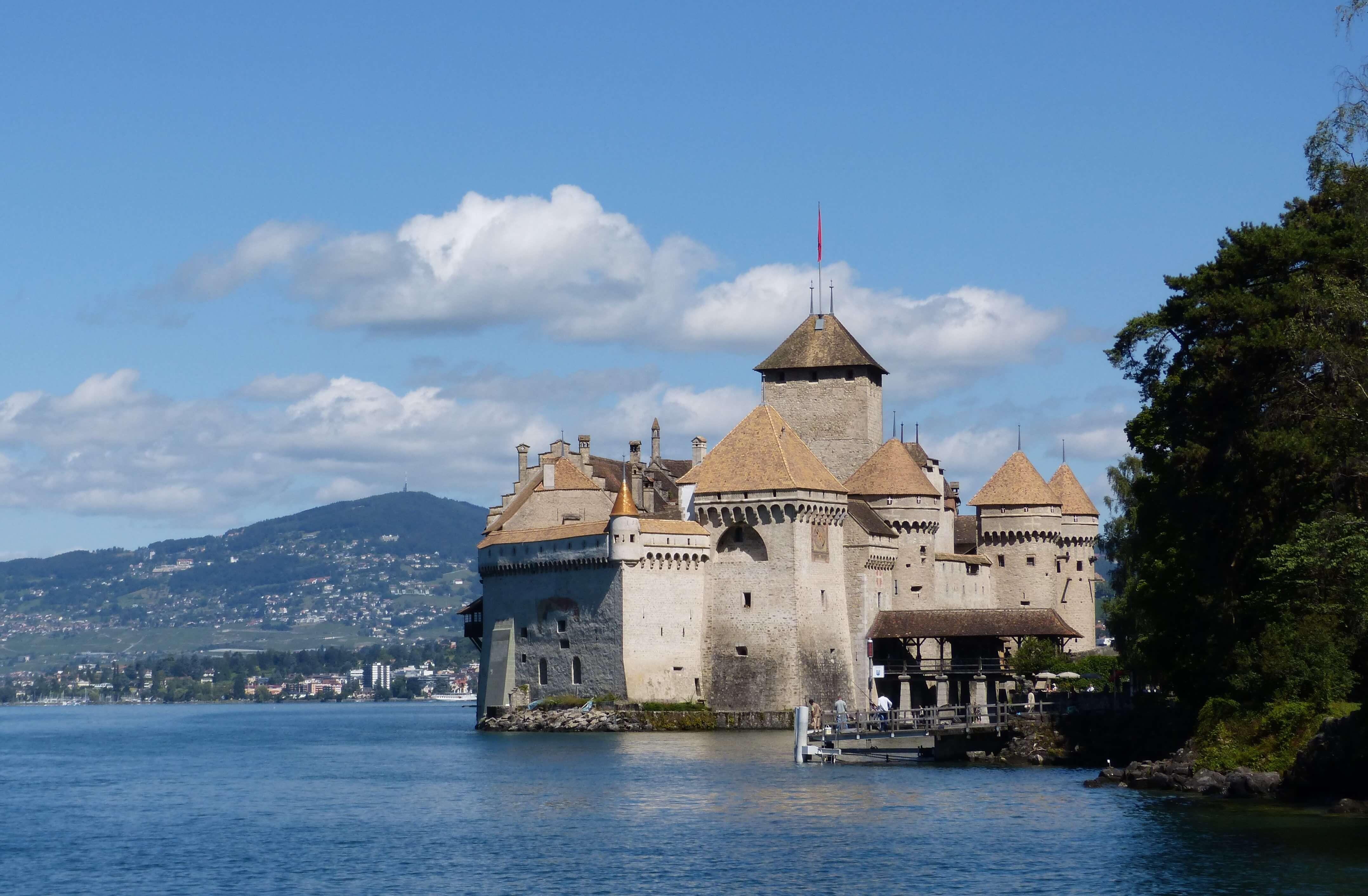 Chillon Castle Wedding